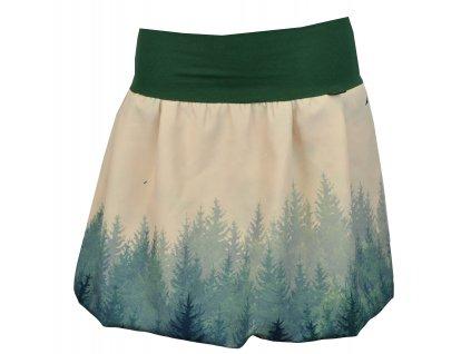 balonová sukně les