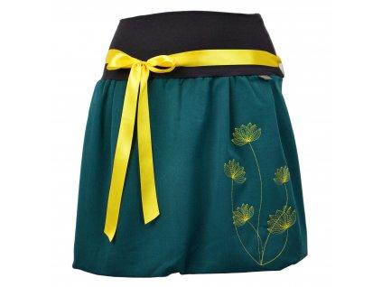 balónová sukně lotusy