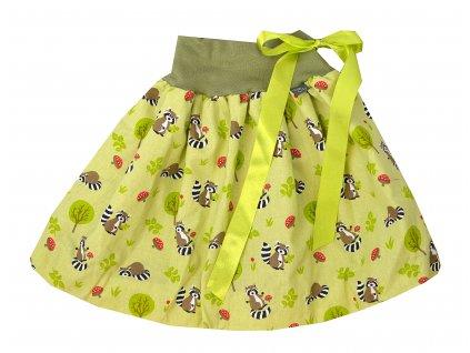 Dětská sukně - mýval