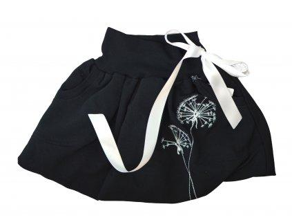 Dětská sukně - pampelišky
