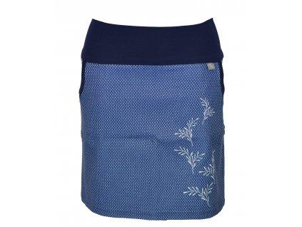 Pouzdrová sukně - cik cak větvičky