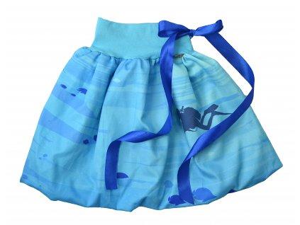 Dětská sukně - potápěč