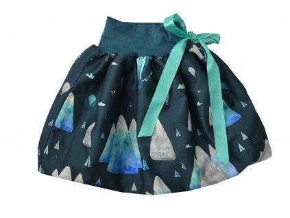 Dětská sukně - hory