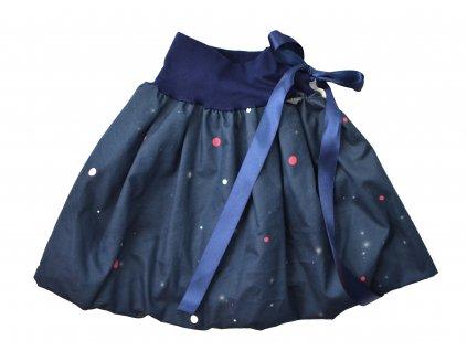 Dětská sukně - tečky