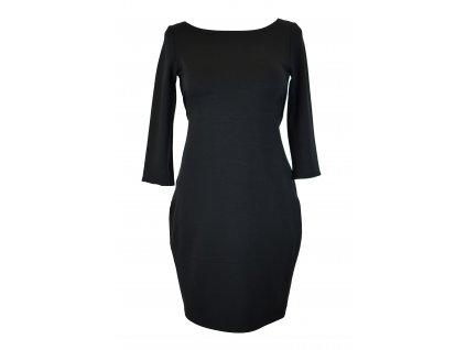 Šaty oversized - černé