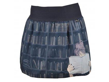 Rovná sukně - knihomolka