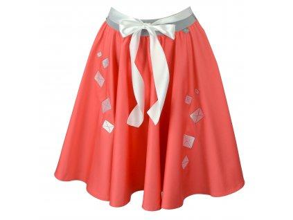 Kolová sukně - napíšu Ti dopis!