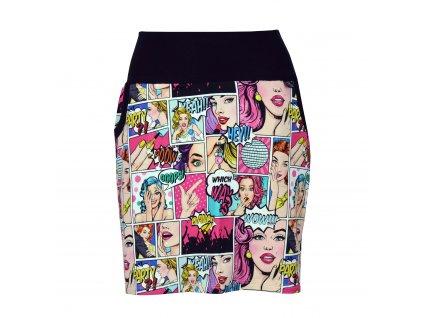 Pouzdrová sukně - komiks!