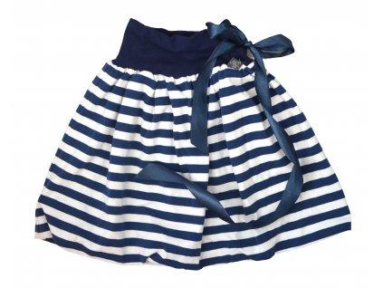 Dětská sukně - prostě proužky