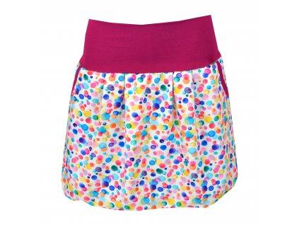 Balónová sukně - lentilky
