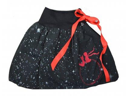Dětská sukně - hvězdný malý princ