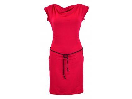 Šaty s vodou - malinové