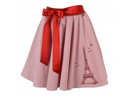 Kolová sukně - Eiffelova věž