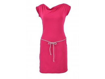 Šaty vodou - růžové