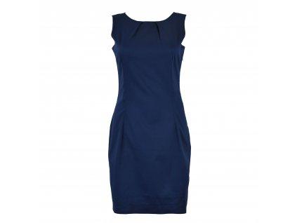 Šaty klasické - tmavě modré basic - II. jakost