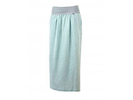 Maxi sukně - světle mint mušelínová