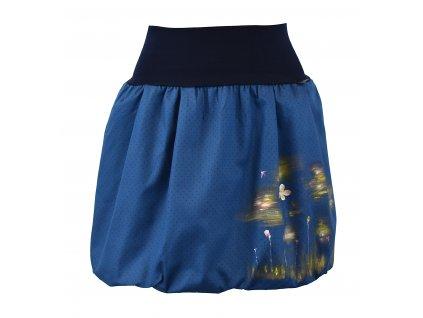 Balónová sukně - malovaná - luční