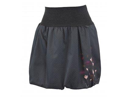 Balónová sukně - jemné květy