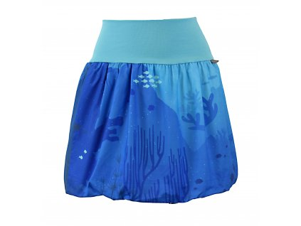 Balónová sukně - korálové útesy