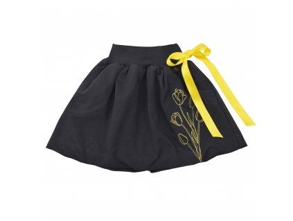 Dětská sukně - tulipány