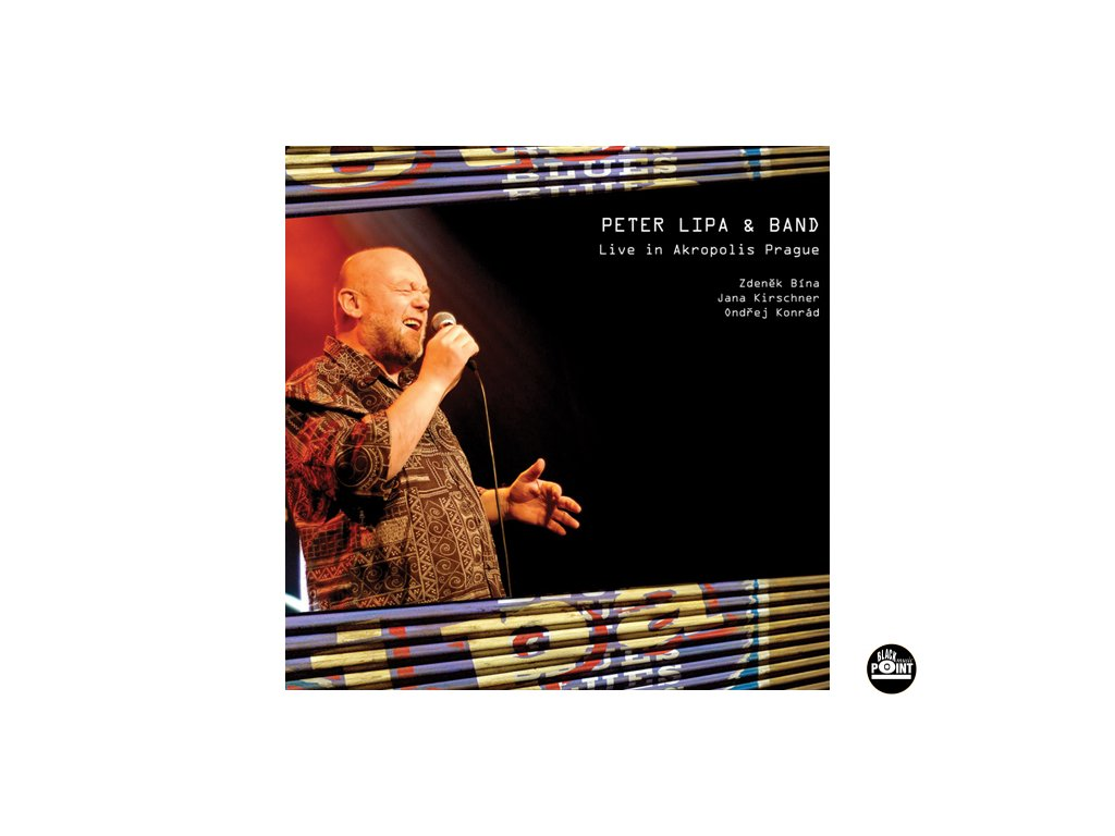 Lipa Peter - Live in Akropolis Prague - CD