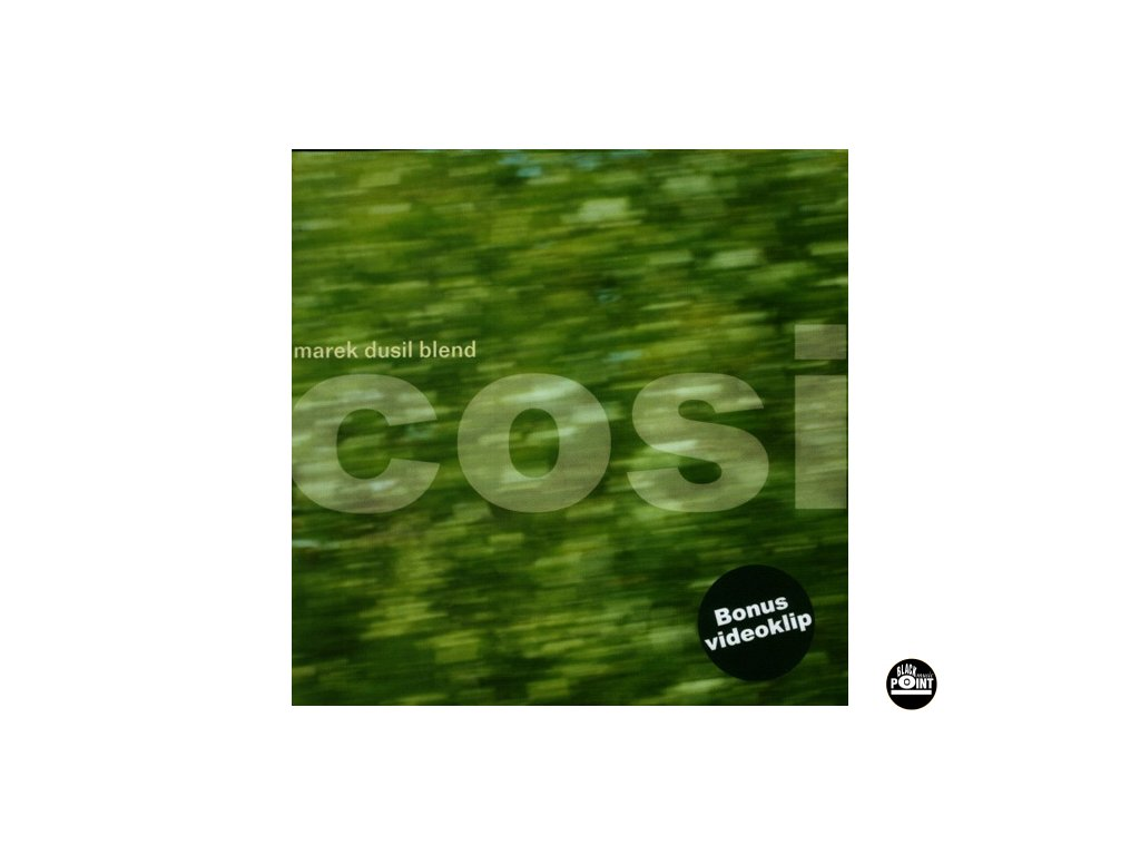 DUSIL MAREK BLEND - Cosi  - CD