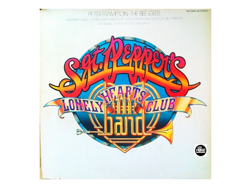 FRAMPTON PETER, BEE GEES, AEROSMITH, ALICE COOPER - Sgt. Pepper´s Lonely Hearts Club Band - soundtrack - 2LP / BAZAR