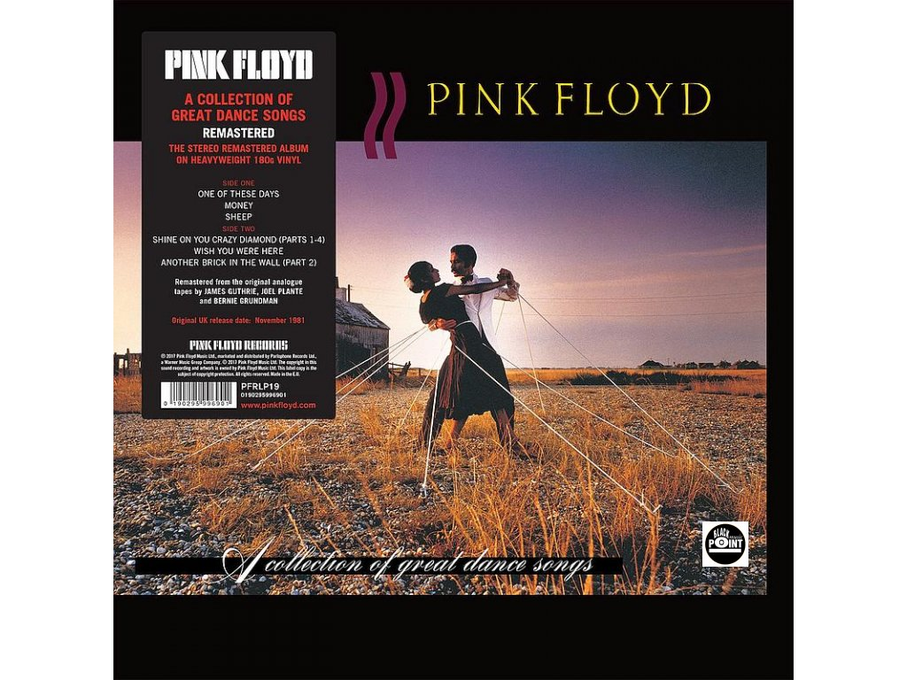 pink floyd collection great dance songs lp