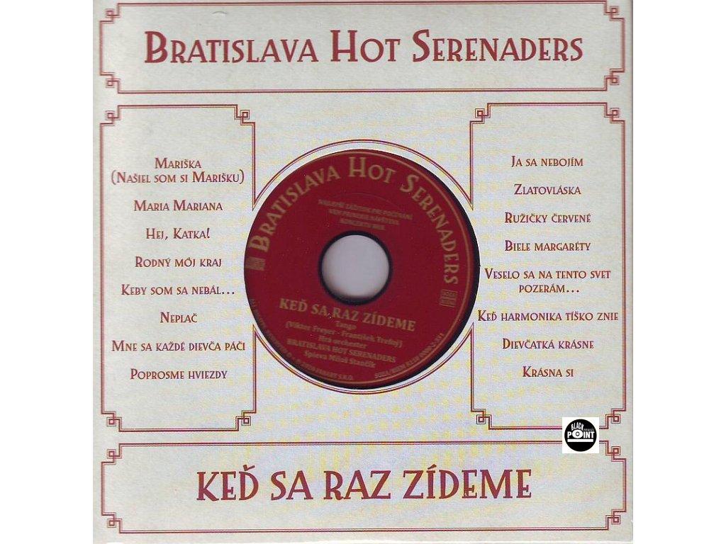 bratislava hot serenades ked sa raz zideme cd 1