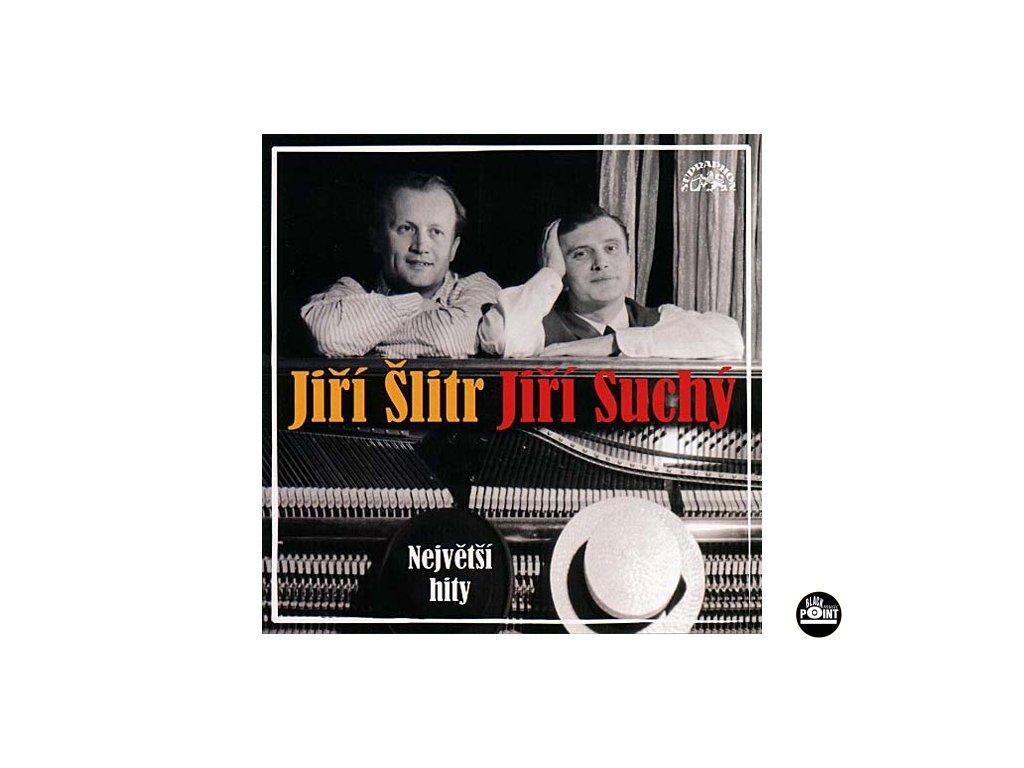 SUCHÝ JIŘÍ, ŠLITR JIŘÍ - Největší hity - CD