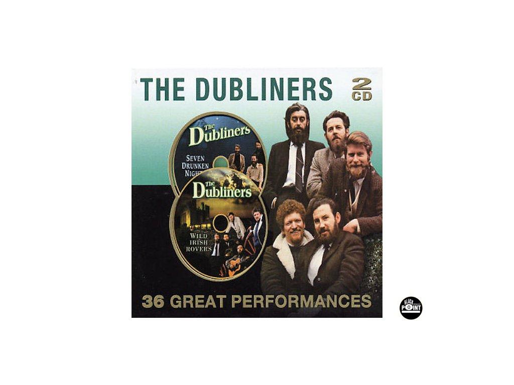 DUBLINERS - 36 Great Performances - 2CD