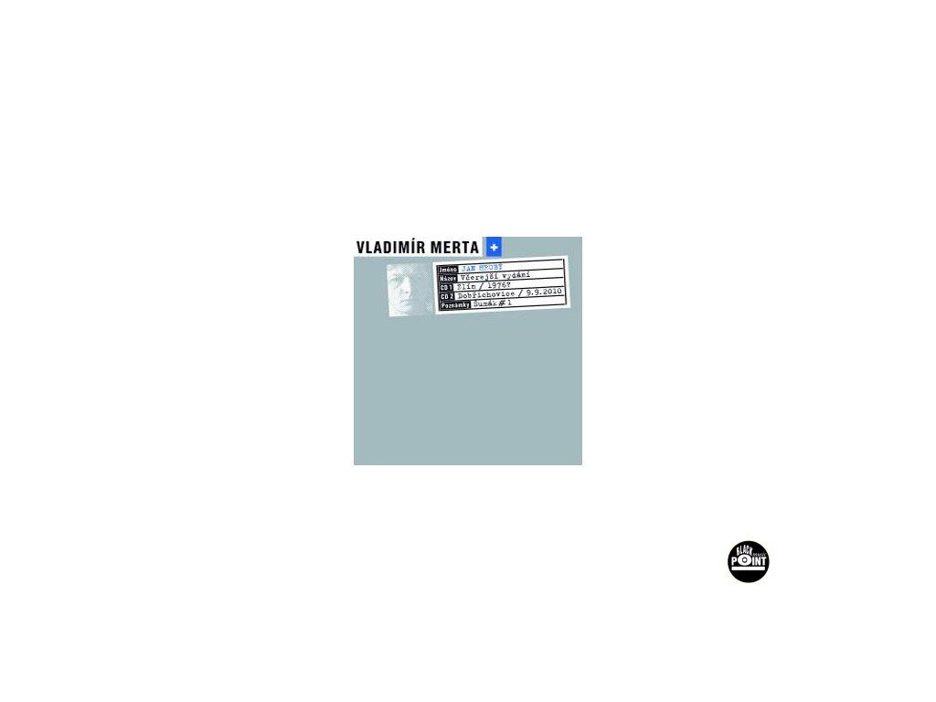 MERTA / HRUBÝ - Včerejší vydání - 2CD