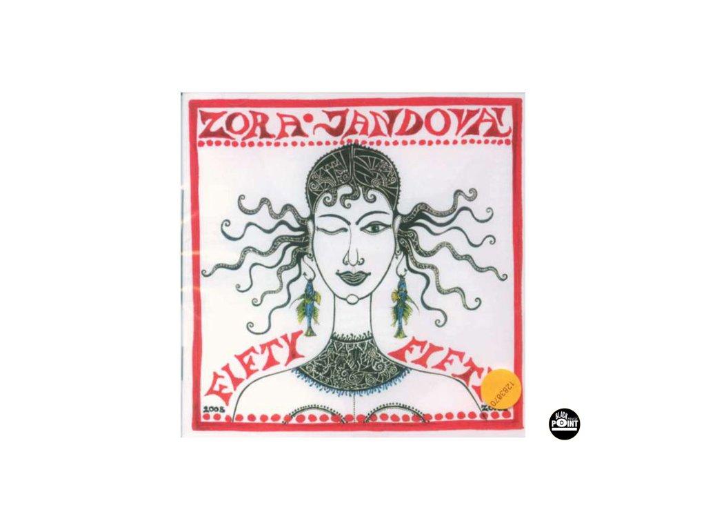 JANDOVÁ ZORA - Fifty-fifty - CD