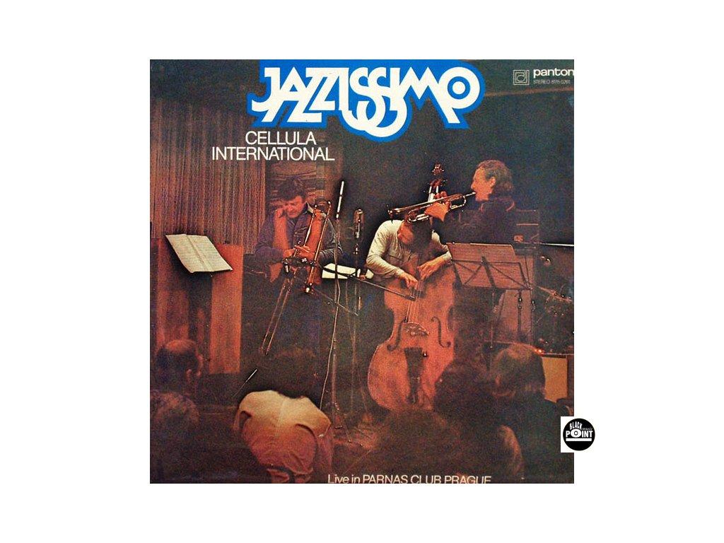 DECZI LACO & CELLULA INTERNATIONAL - Jazzissimo - CD