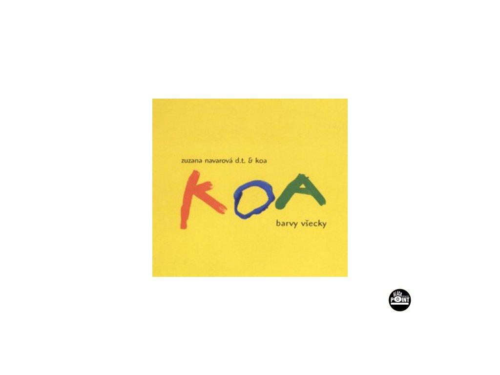 NAVAROVÁ ZUZANA A KOA - Barvy všecky - CD