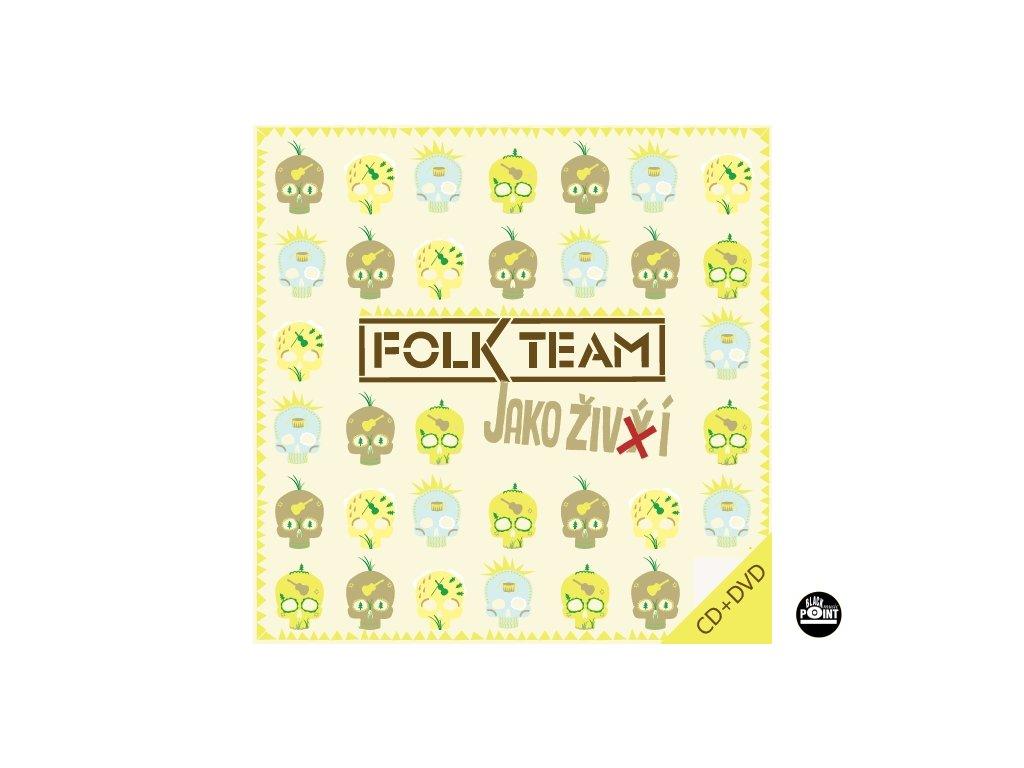 FOLK TEAM - Jako živí - CD+DVD