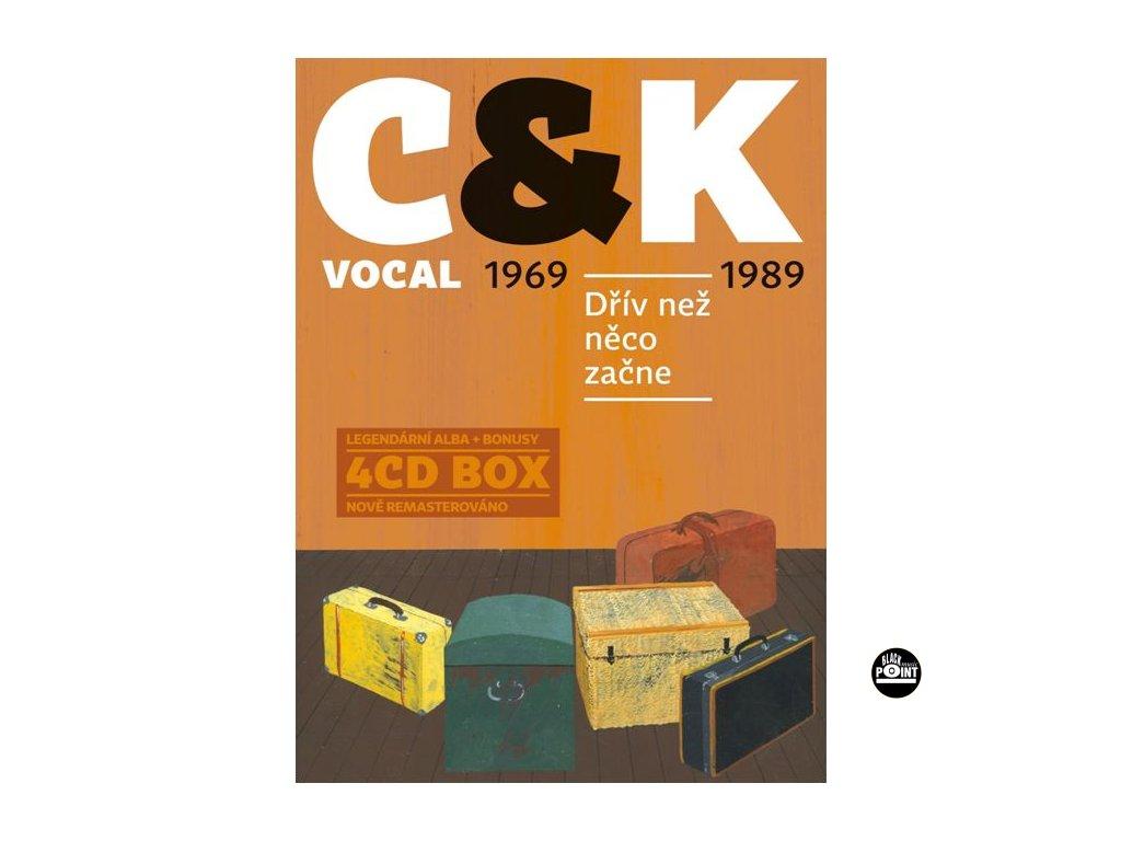 C&K VOCAL - Dřív než něco začne (1969-1989) - 4CD