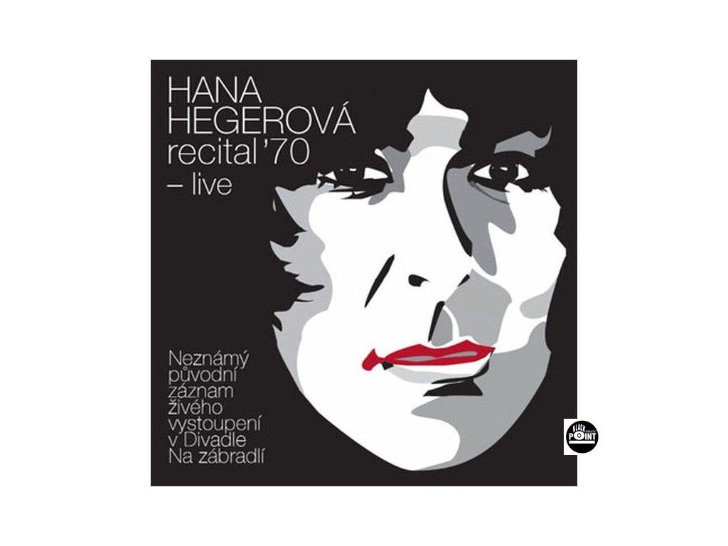 HEGEROVÁ HANA - Recital ´70 live - 2CD