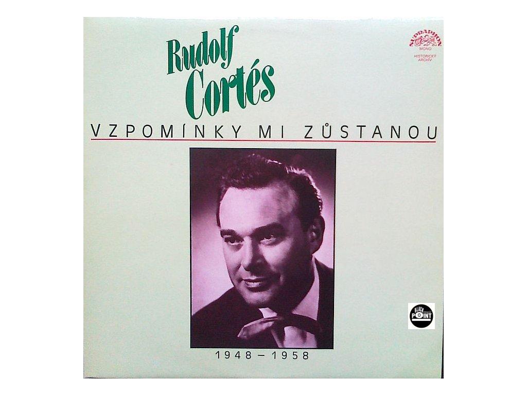 CORTÉS RUDOLF - Vzpomínky mi zůstanou - LP / BAZAR