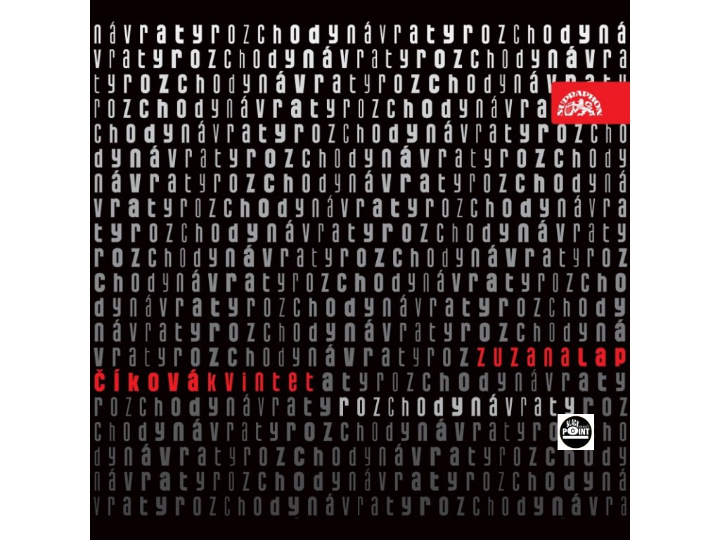 LAPČÍKOVÁ ZUZANA - Rozchody návraty - CD