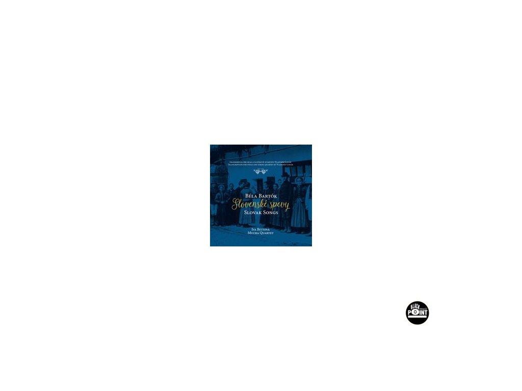 BITTOVÁ IVA, MUCHA QUARTET - Slovenské spevy - CD