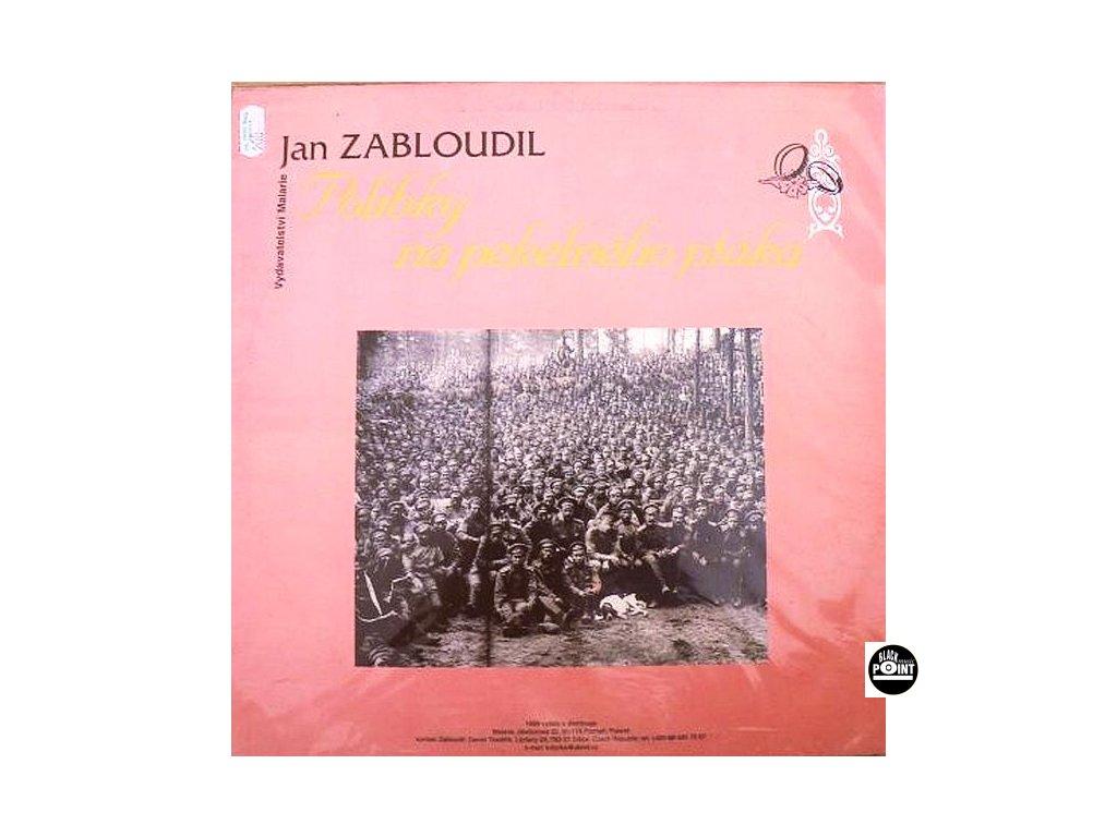 JAN ZABLOUDIL - Polibky na pekelného ptáka - LP/COLOUR