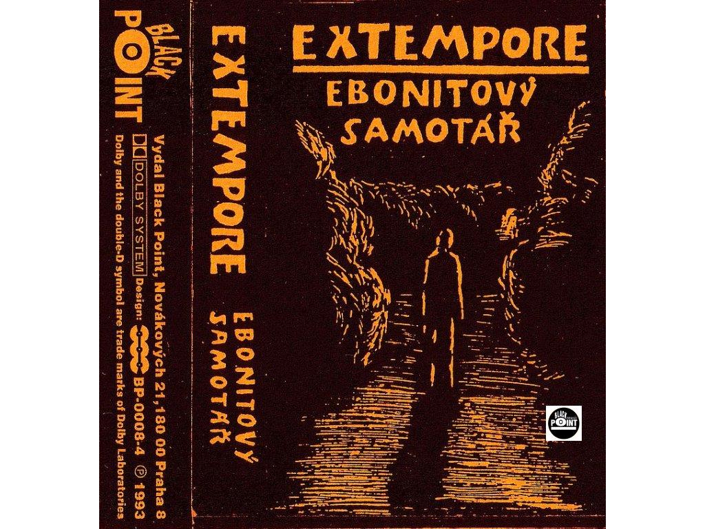 EXTEMPORE ebonitovy samotar mc