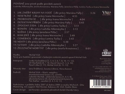 POVÍSNĚ MICHALA VÍCHA - Vávra, Macháček, Vychodilová, Vích, Liška - CD