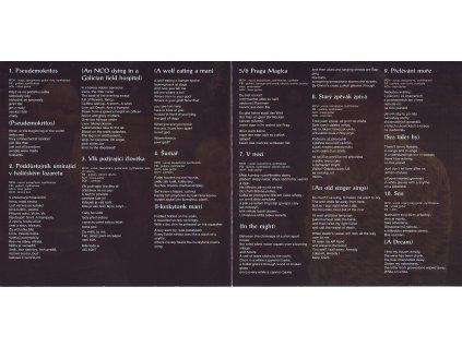 CHADIMA, BINDER & CHARVÁT - Pseudemokritos - CD