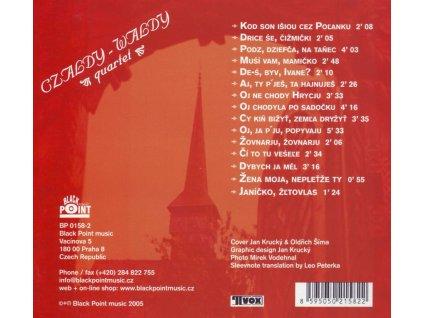 CZALDY-WALDY - Ethno-šansony ze Slovenska a Ukrajiny - CD