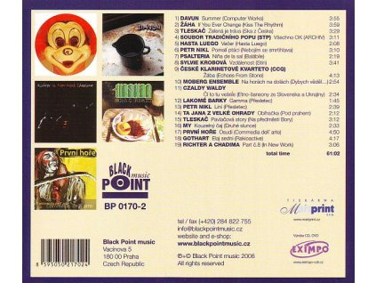 V/A BP SAMPLER 2004-2006 - Tleskač,Moberg,Nikl,První hoře,My,Krobová,Gothart - CD
