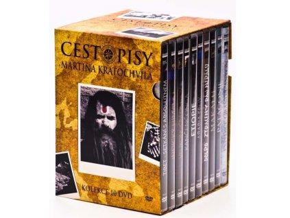 cestopisy martina kratochvila dvd