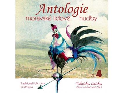 Antologie moravské lidové hudby CD4 - Valašsko - CD