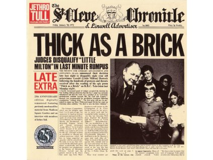 jethro tull thick as a brick A